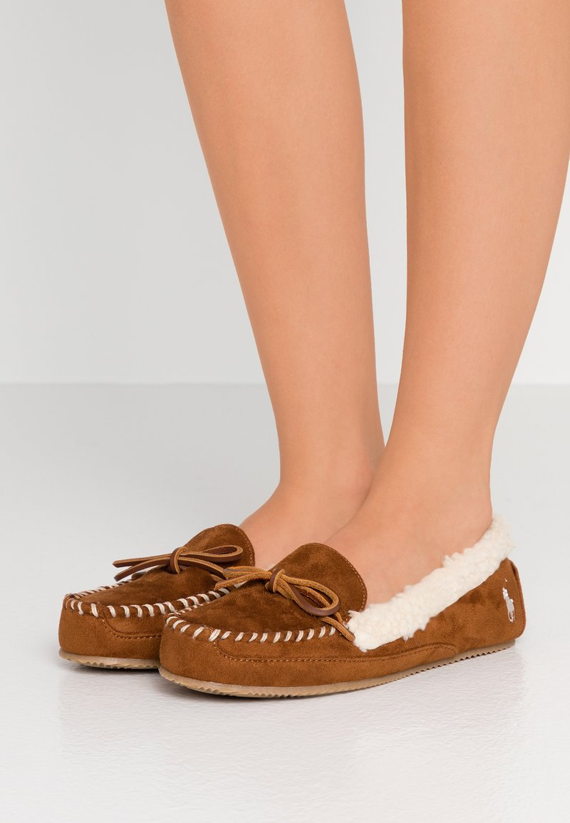 Polo Ralph Lauren - MARCIE  - Slippers - snuff/cream