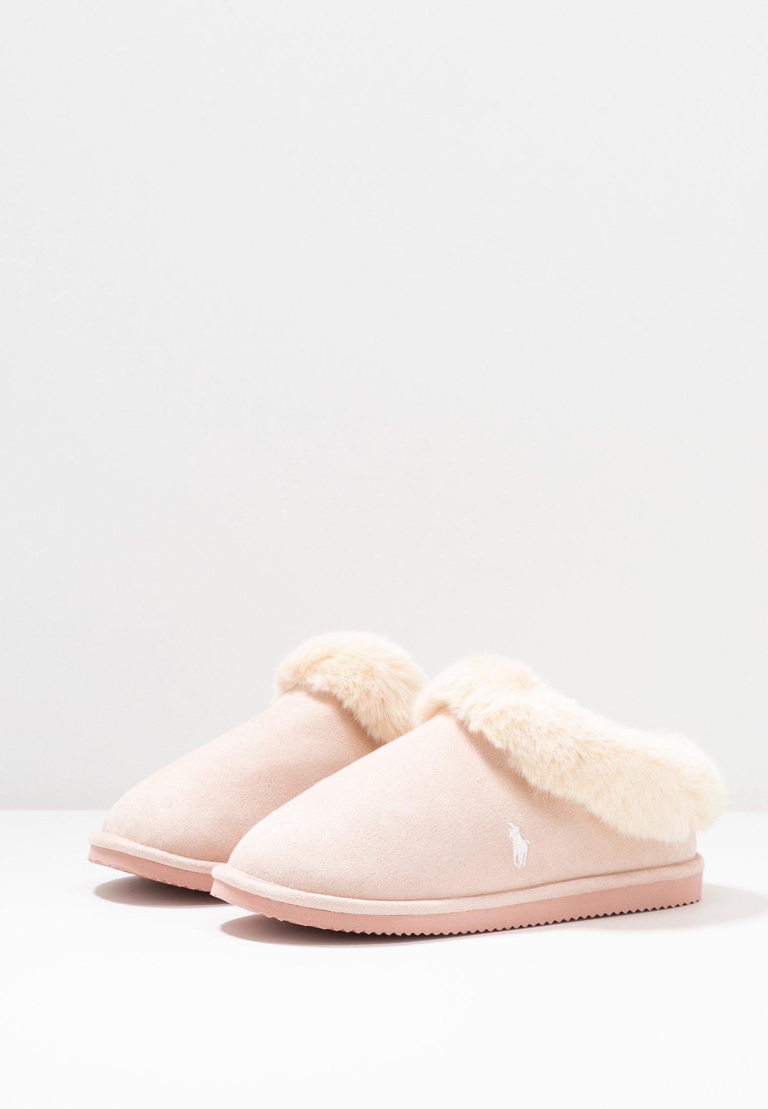 Polo Ralph Lauren Charlotte - Hausschuh Pink/cream Black Friday