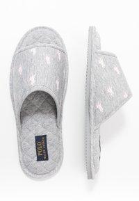 Polo Ralph Lauren - ANTERO - Tohvelit - grey/light pink - 3
