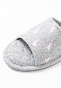Polo Ralph Lauren - ANTERO - Tohvelit - grey/light pink - 2