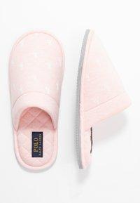Polo Ralph Lauren - SUMMIT SCUFF  - Hjemmesko - light pink/offwhite - 3