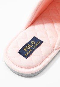 Polo Ralph Lauren - SUMMIT SCUFF  - Hjemmesko - light pink/offwhite - 2