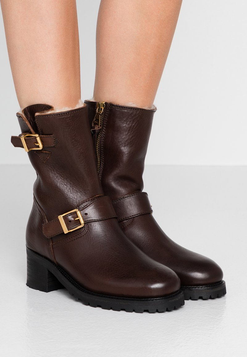 Polo Ralph Lauren - PAYGE BOOTS CASUAL - Classic ankle boots - chocolate