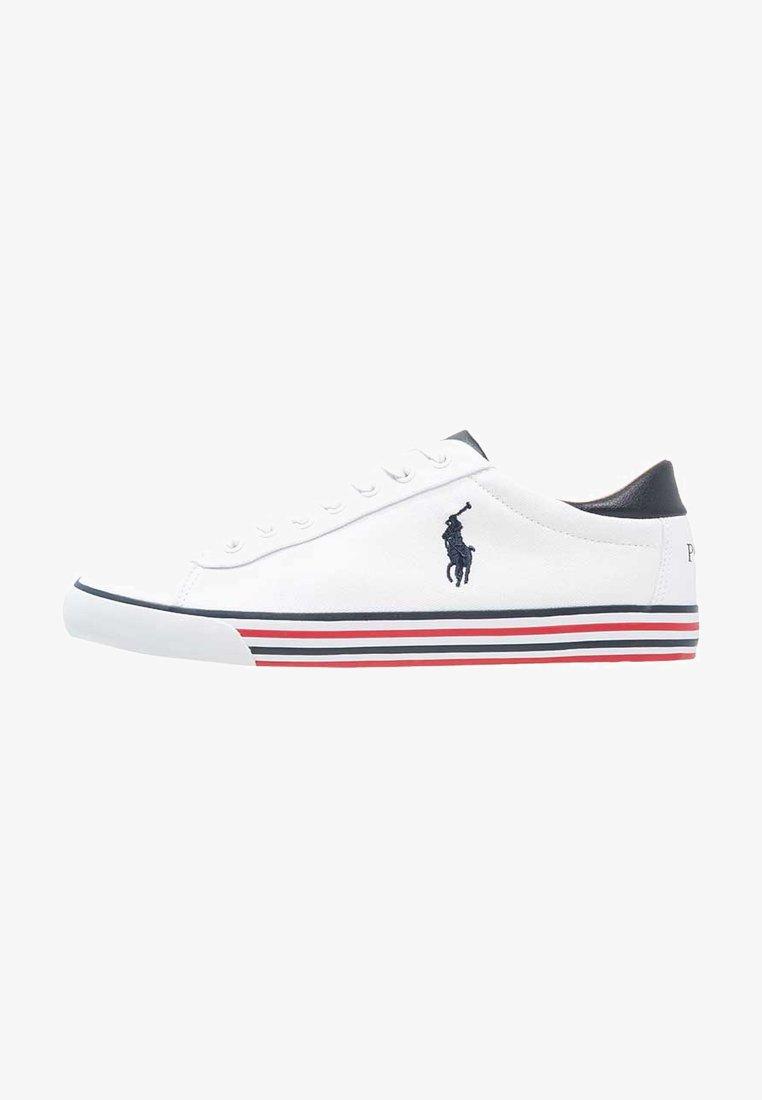 Polo Ralph Lauren - HARVEY - Sneaker low - pure white/newport navy