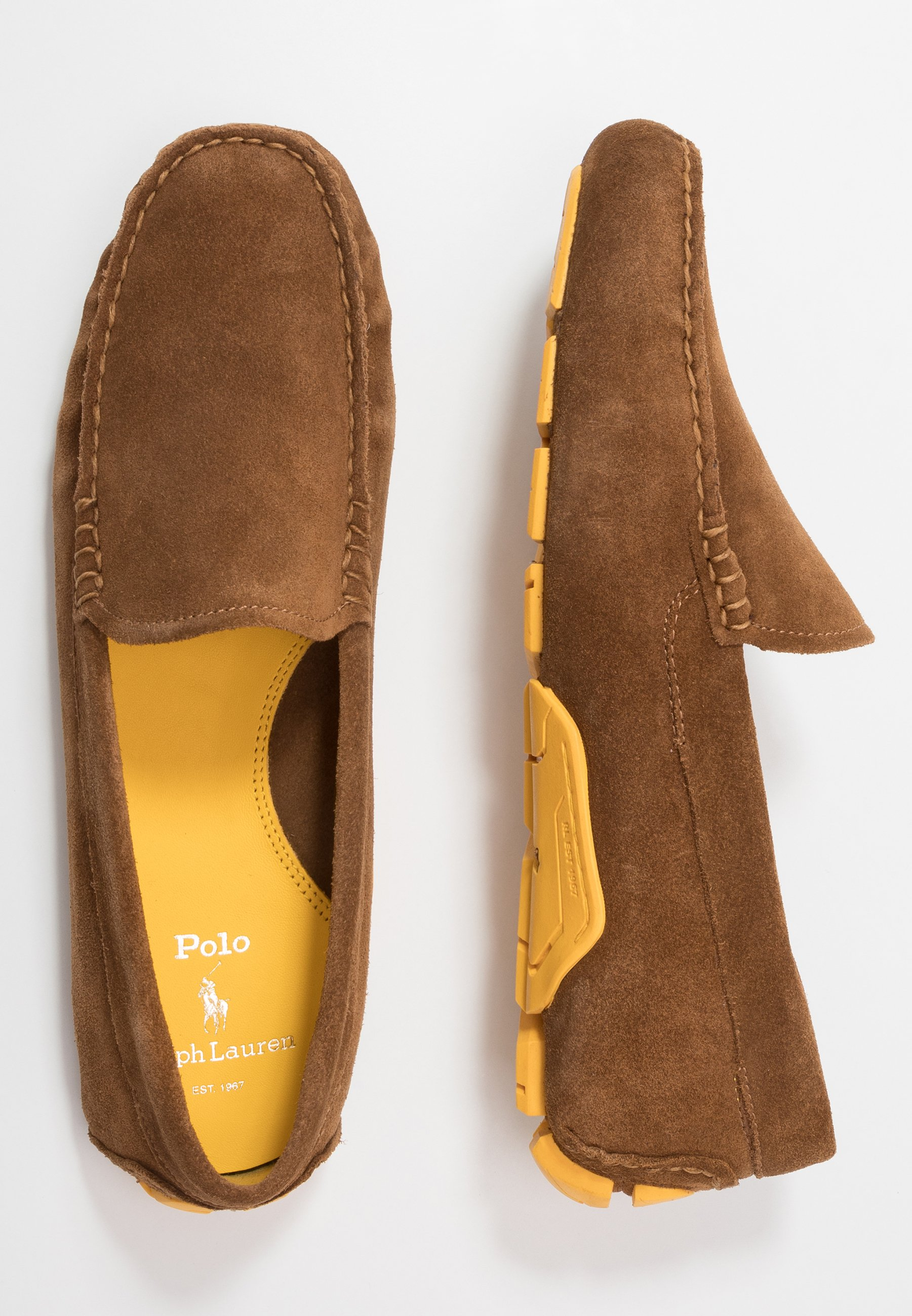 Polo Ralph Lauren Anders Driver - Moccasins Snuff