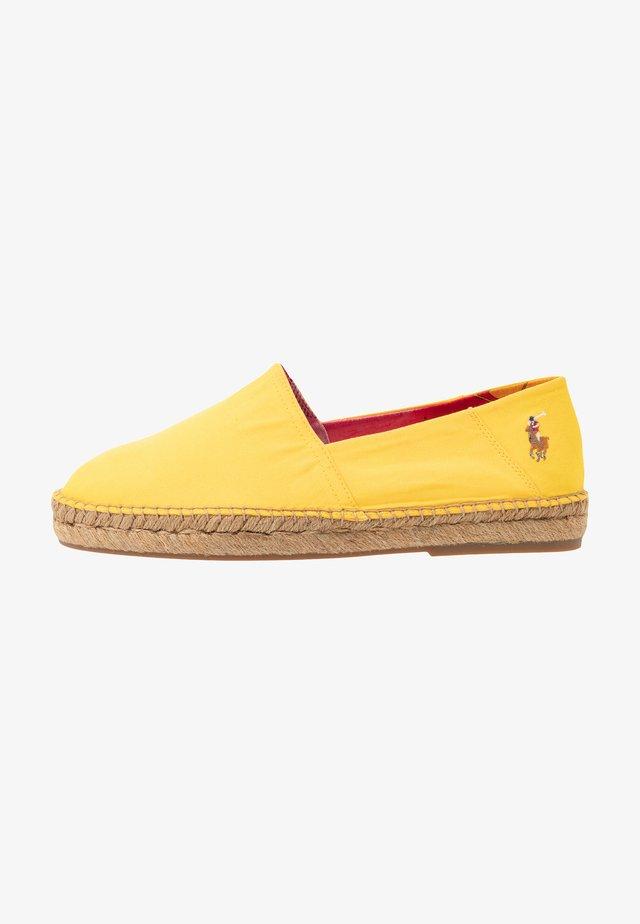 CEVIO - Espadrille - chrome yellow