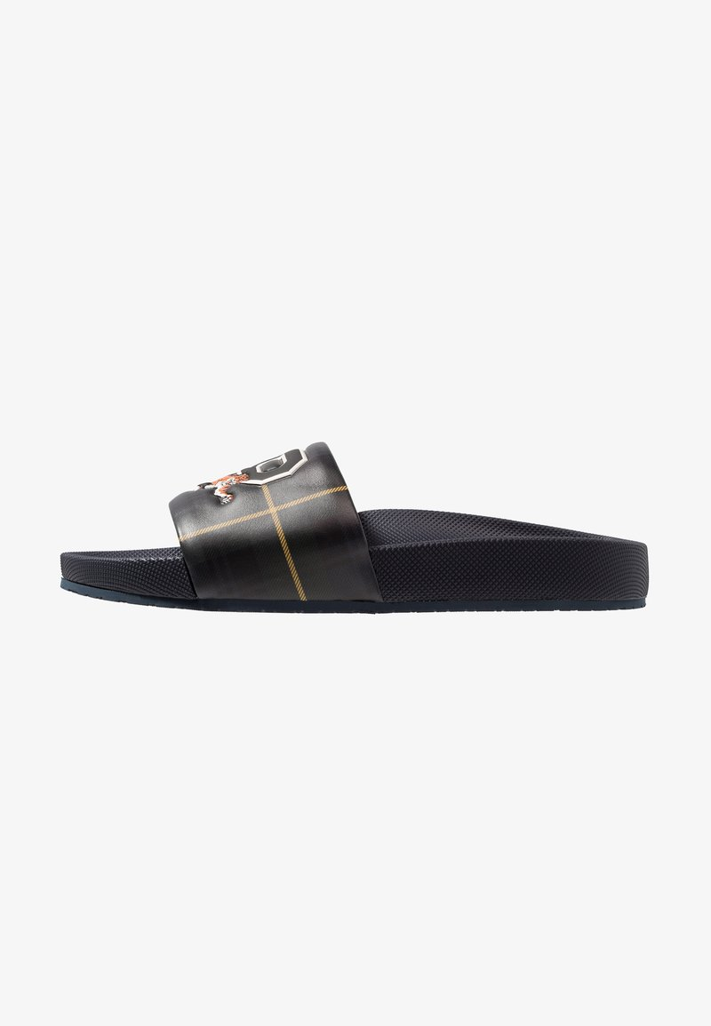 Polo Ralph Lauren - TARTAN - Pantolette flach - black