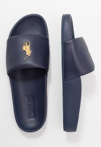 Polo Ralph Lauren - CAYSON - Pantofle - newport navy/gold - 1