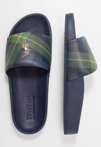 Polo Ralph Lauren - CAYSON CASUAL - Pantolette flach - newport navy - 1