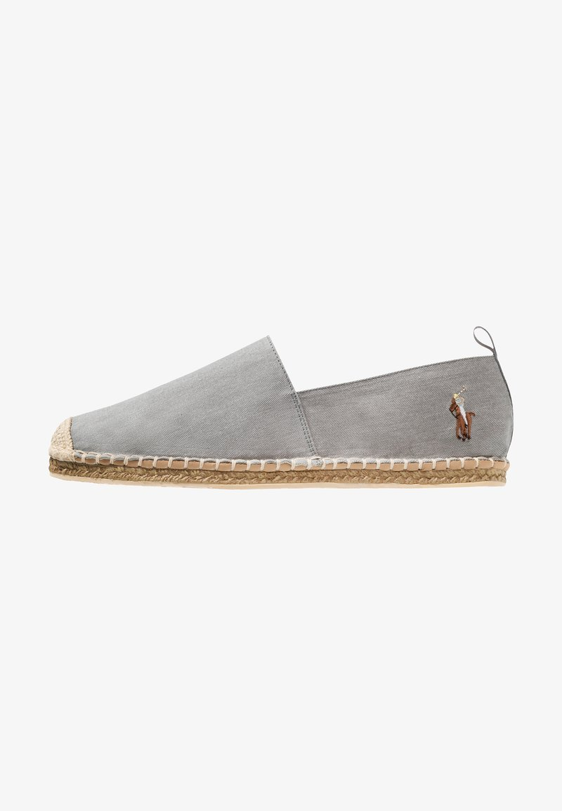 Polo Ralph Lauren - BARRON SHOE CASUAL - Espadrille - soft grey