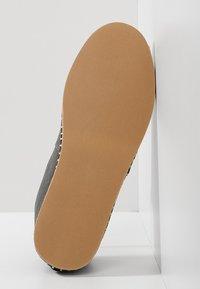 Polo Ralph Lauren - BARRON SHOE CASUAL - Espadrilky - black - 4