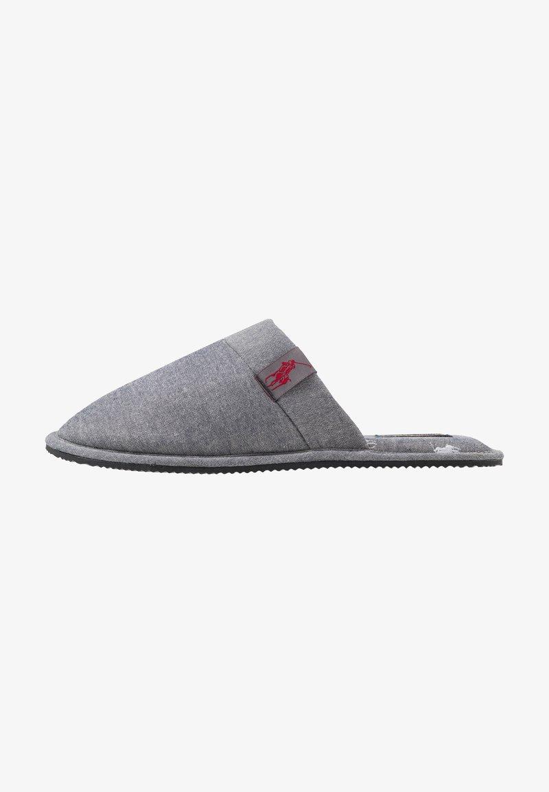 Polo Ralph Lauren - SUMMIT SCUFF - Hjemmesko - grey