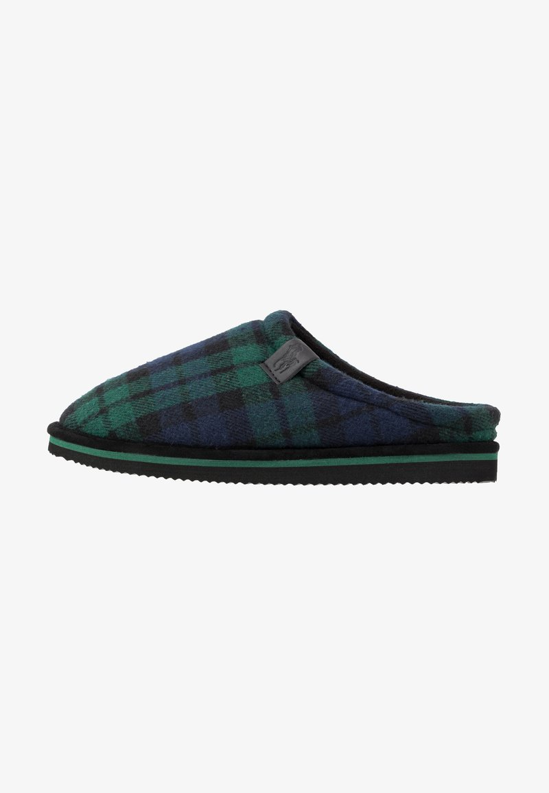 Polo Ralph Lauren - JACQUE SCUFF - Slippers - green