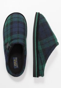 Polo Ralph Lauren - JACQUE SCUFF - Slippers - green - 1