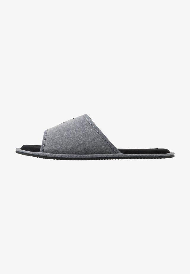 ANTERO - Pantofole - grey/black