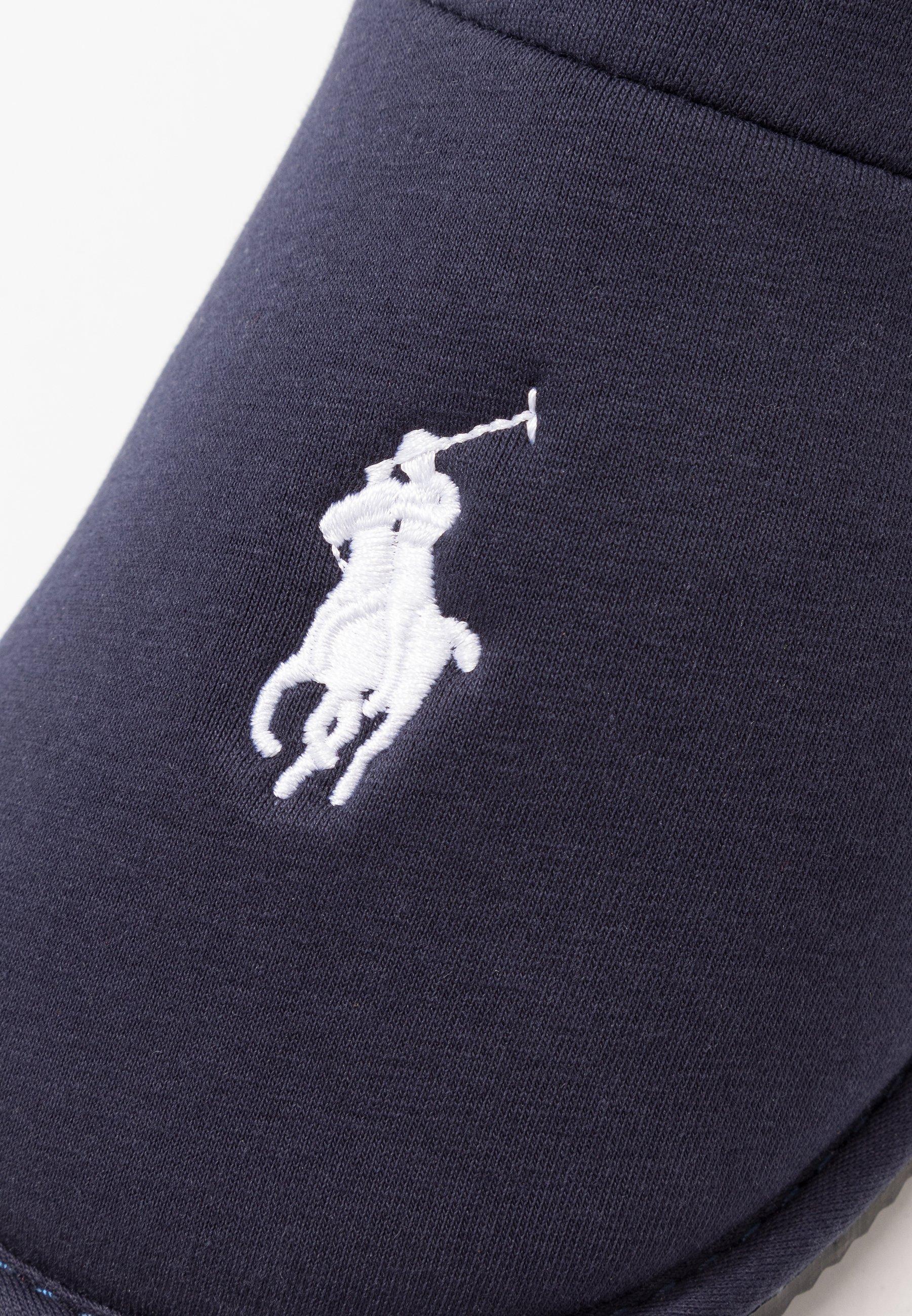 Polo Ralph Lauren Summit Scuff - Chaussons Navy/white