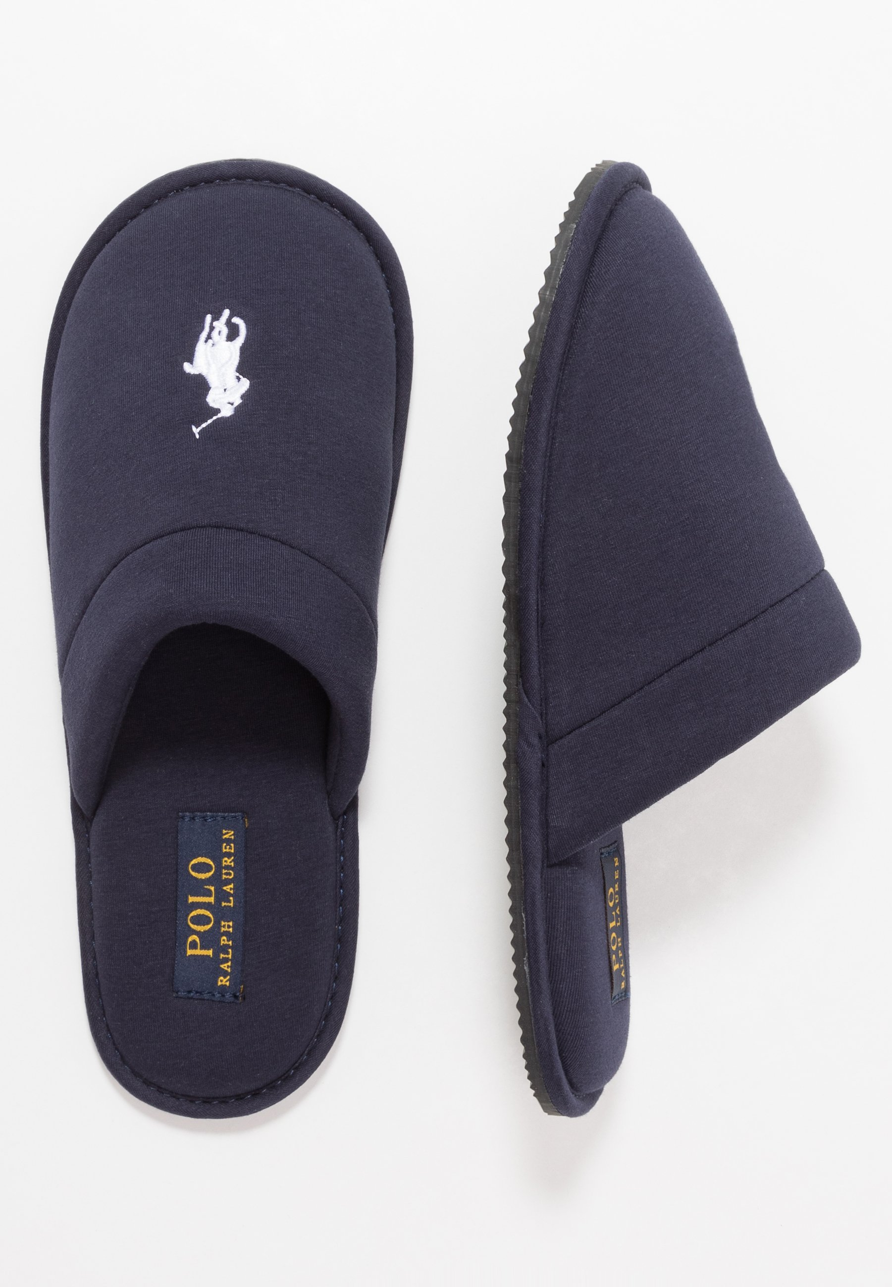 Polo Ralph Lauren Summit Scuff - Chaussons Navy/white
