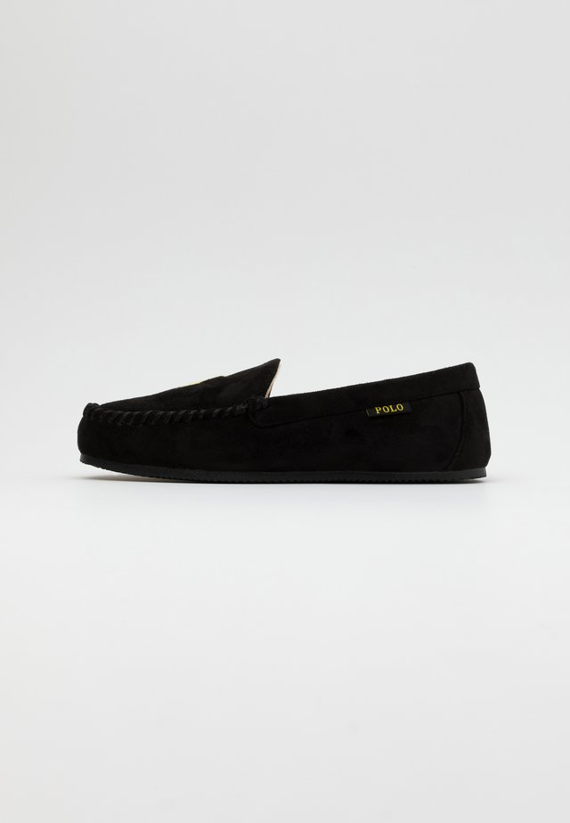 EXCLUSIVE DEZI IV - Slippers - black/gold