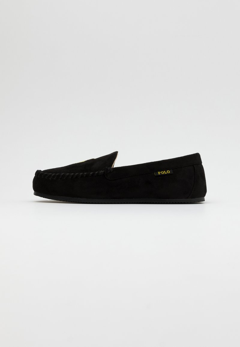 Polo Ralph Lauren - EXCLUSIVE DEZI IV - Pantoffels - black/gold