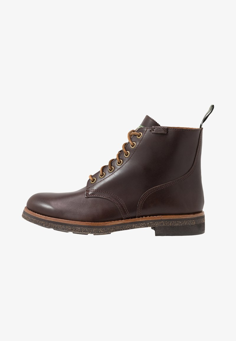 Polo Ralph Lauren - Lace-up ankle boots - brown