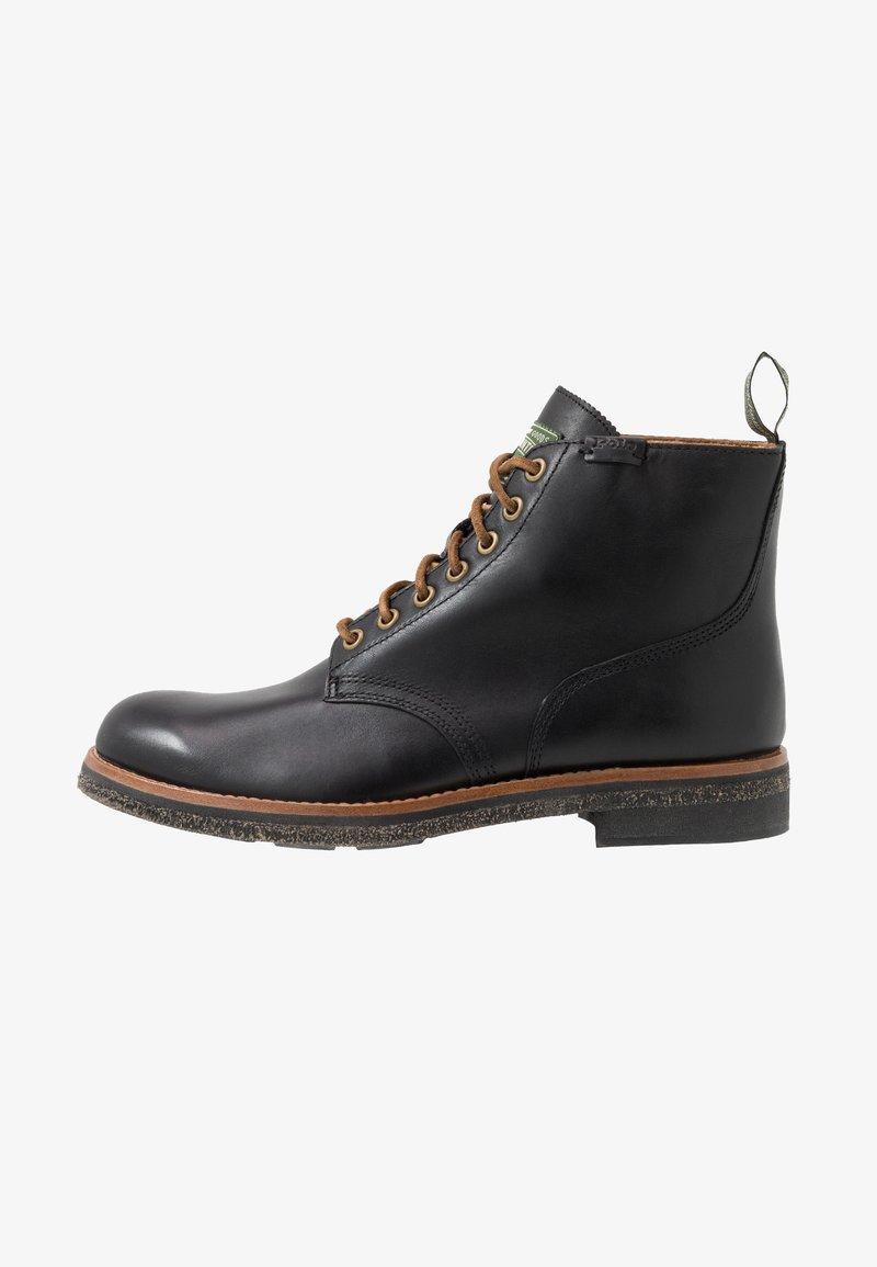 Polo Ralph Lauren - Lace-up ankle boots - black