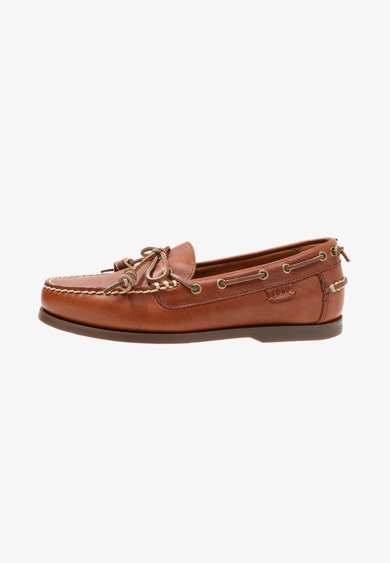 Polo Ralph Lauren - MILLARD - Boat shoes - polo  tan