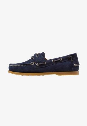 MERTON - Chaussures bateau - newport navy