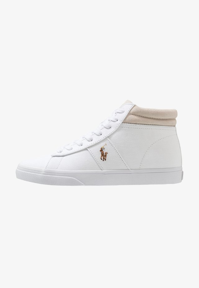 SHAW - High-top trainers - white