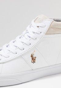 Polo Ralph Lauren - SHAW - Sneakers alte - white - 6