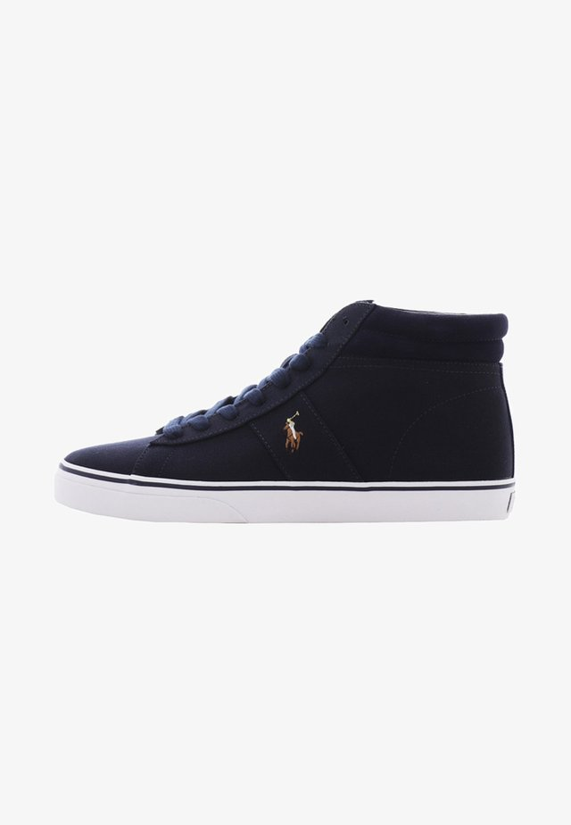 SHAW - Höga sneakers - aviator navy