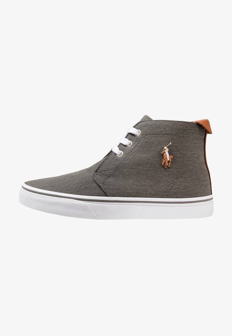 Polo Ralph Lauren - WASHED TALIN - High-top trainers - grey