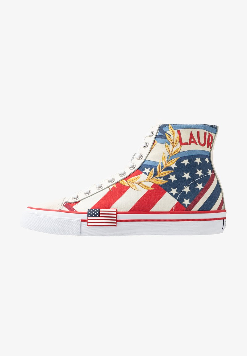 Polo Ralph Lauren - CHARIOTS SOLOMON - Sneaker high - multicolor