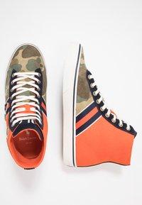 Polo Ralph Lauren - SOLOMON - Baskets montantes - orange/multicolor - 1