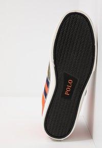 Polo Ralph Lauren - SOLOMON - Baskets montantes - orange/multicolor - 4
