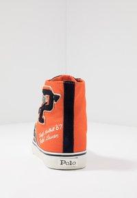 Polo Ralph Lauren - SOLOMON - Baskets montantes - orange/multicolor - 3