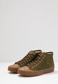 Polo Ralph Lauren - XANDER MID - Sneakers alte - hunter green - 2