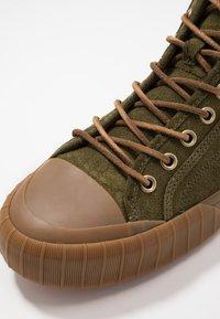 Polo Ralph Lauren - XANDER MID - Sneakers alte - hunter green - 5