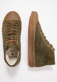 Polo Ralph Lauren - XANDER MID - Sneakers alte - hunter green - 1