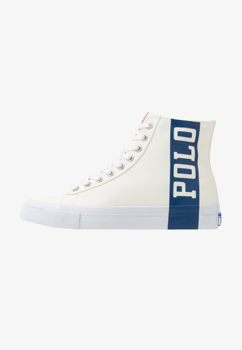 Polo Ralph Lauren - SOLOMON  - High-top trainers - chic cream/newport