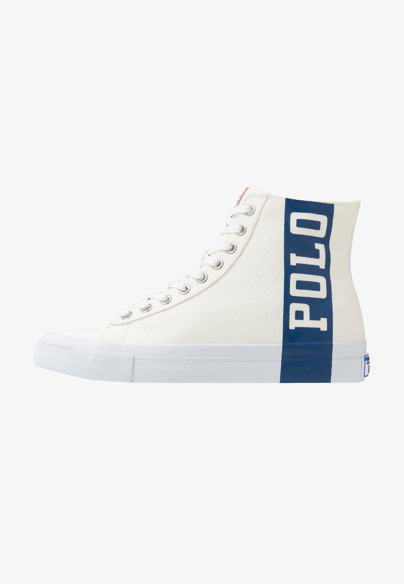Polo Ralph Lauren - SOLOMON  - Sneaker high - chic cream/newport