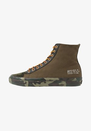 SOLOMON - High-top trainers - olive