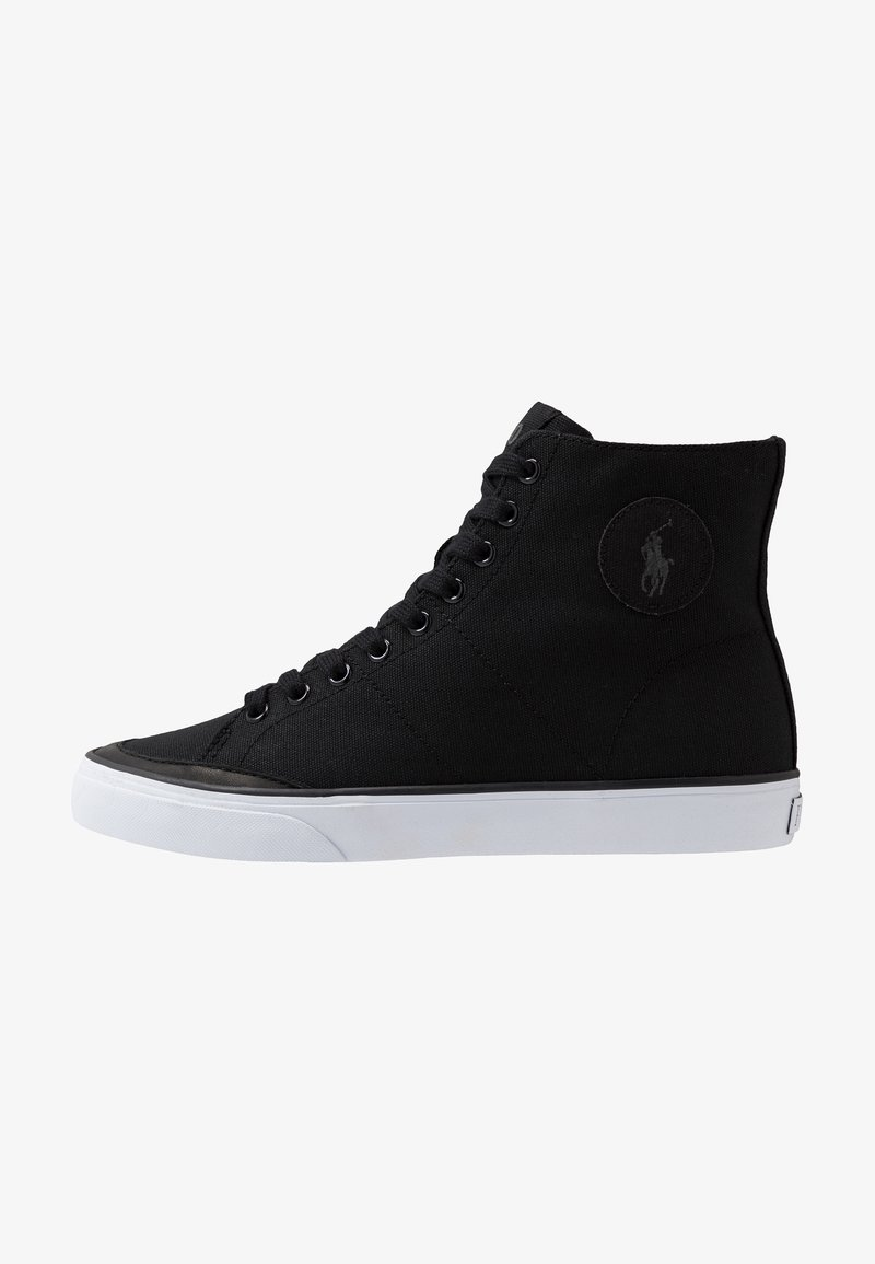 Polo Ralph Lauren - SOLOMON - Zapatillas altas - black