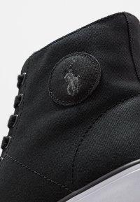 Polo Ralph Lauren - SOLOMON - Zapatillas altas - black - 5