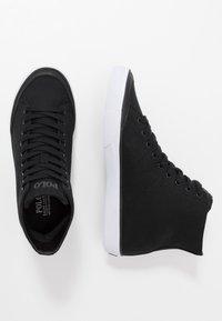 Polo Ralph Lauren - SOLOMON - Zapatillas altas - black - 1