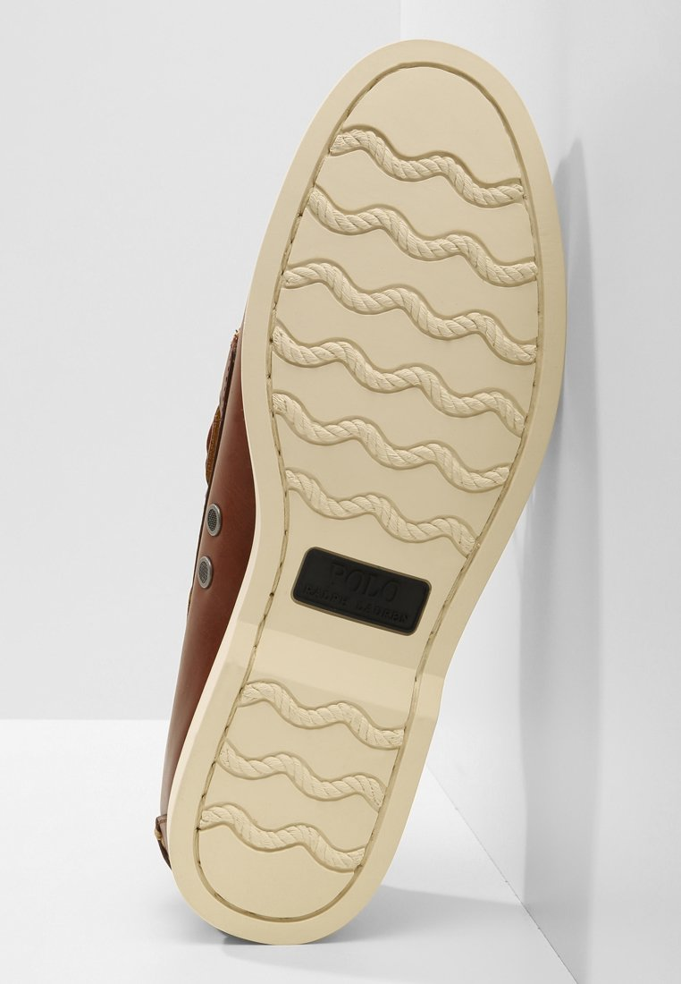Polo Ralph Lauren MERTON - Sejlersko - deep saddle tan