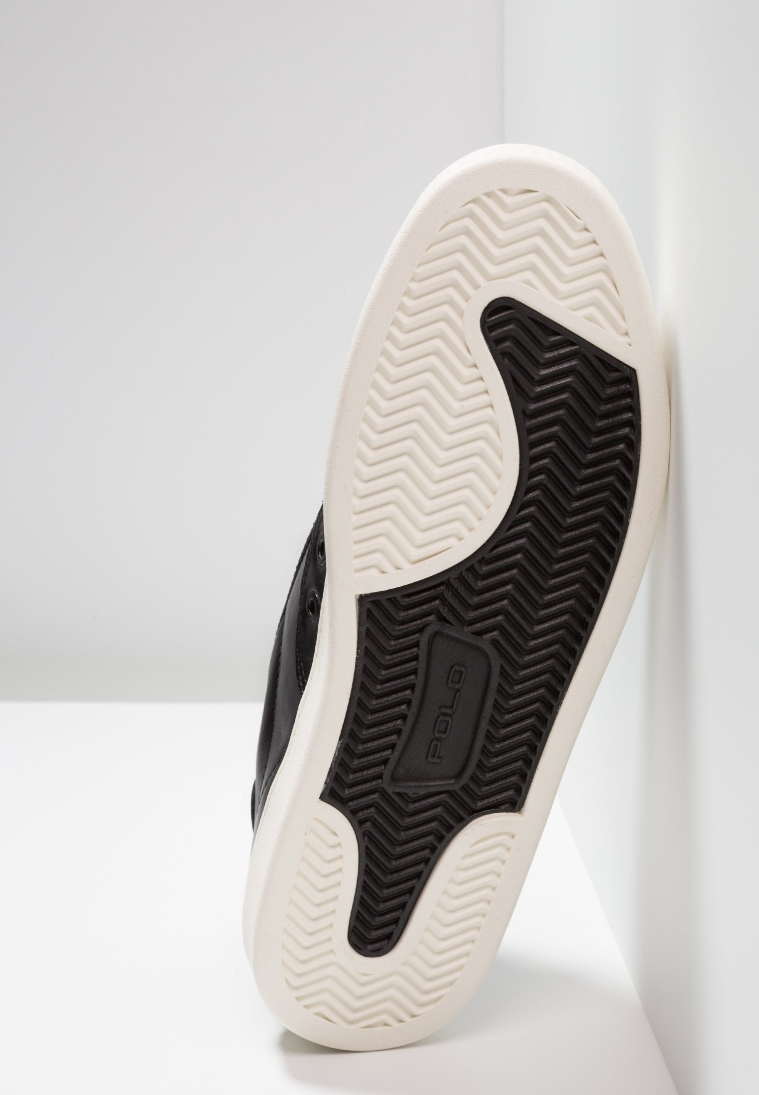 Polo Ralph Lauren COURT - Baskets basses black