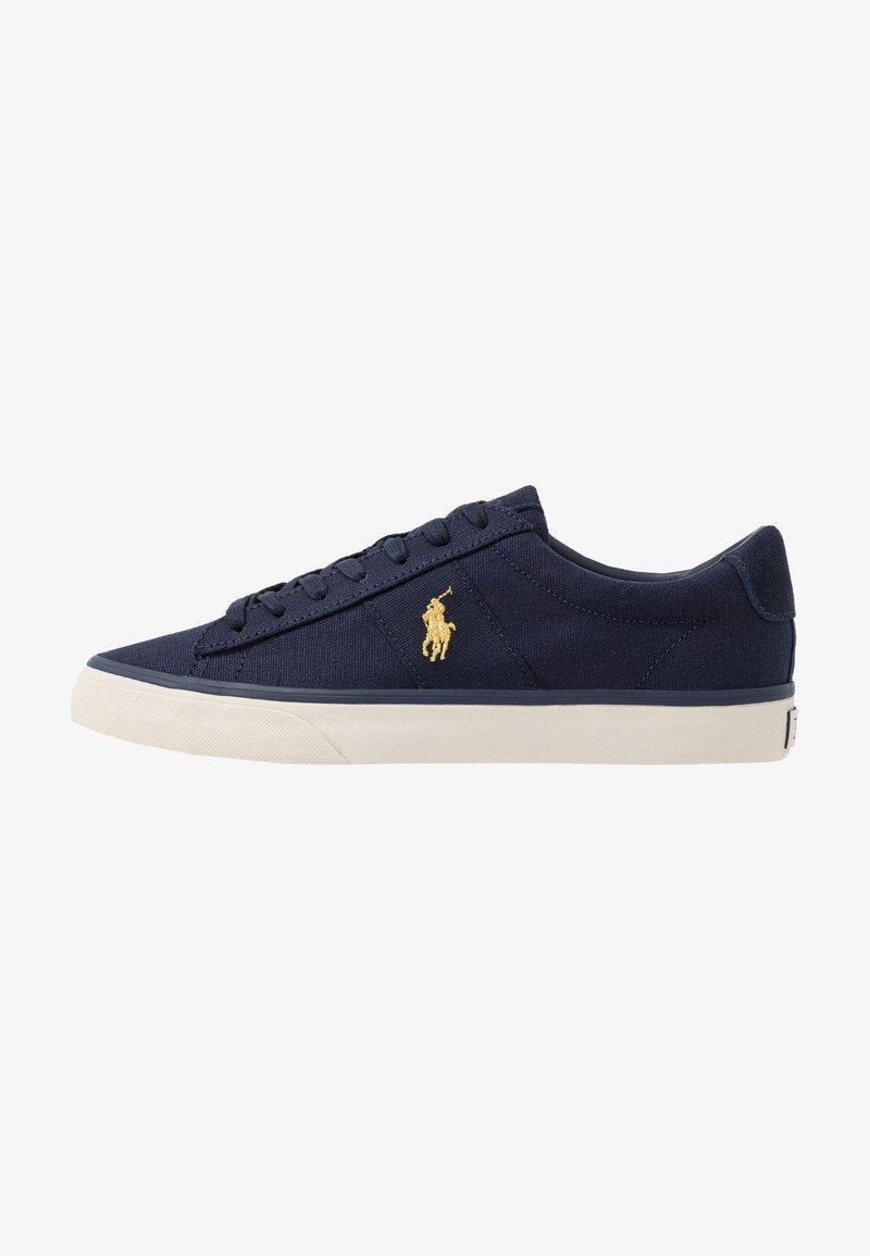 Polo Ralph Lauren - SAYER - Matalavartiset tennarit - navy/gold
