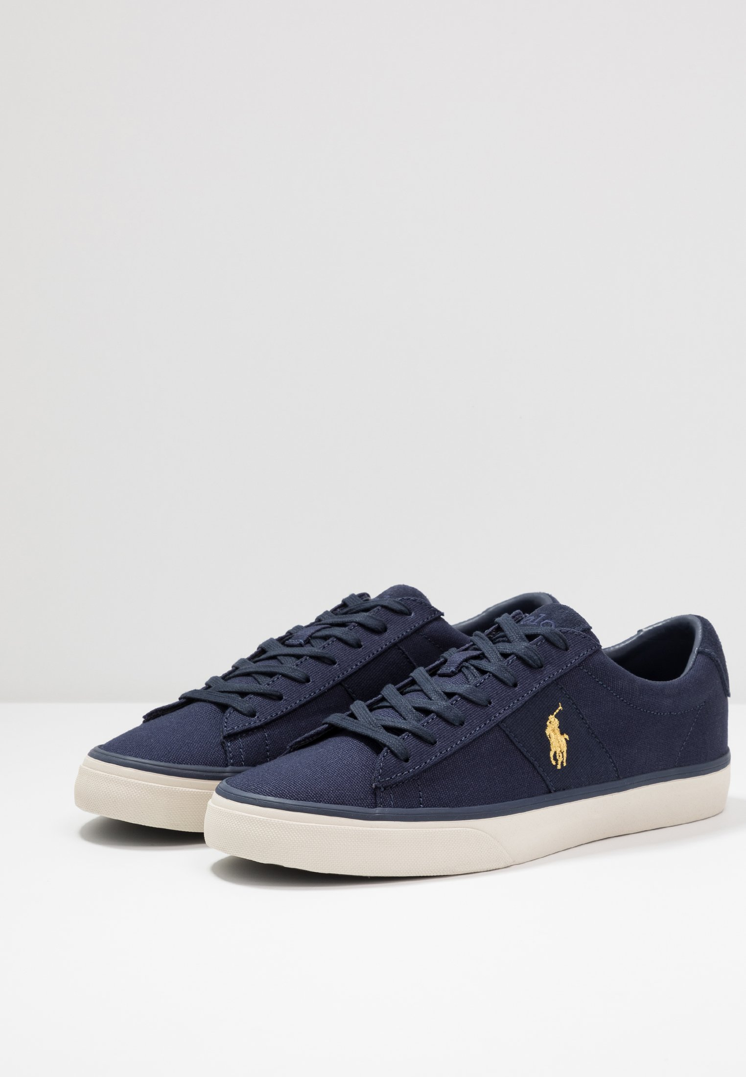 Polo Ralph Lauren Sayer - Baskets Basses Navy/gold