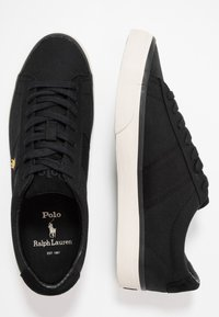 Polo Ralph Lauren - SAYER - Sneakers basse - black/gold - 1