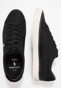 Polo Ralph Lauren - SAYER - Sneakers laag - black/gold - 1